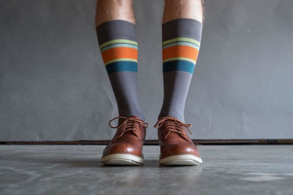 Grey Performance Dress Sock