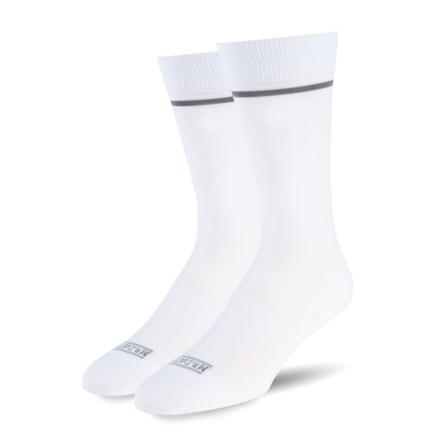 White w/ Grey Stripe